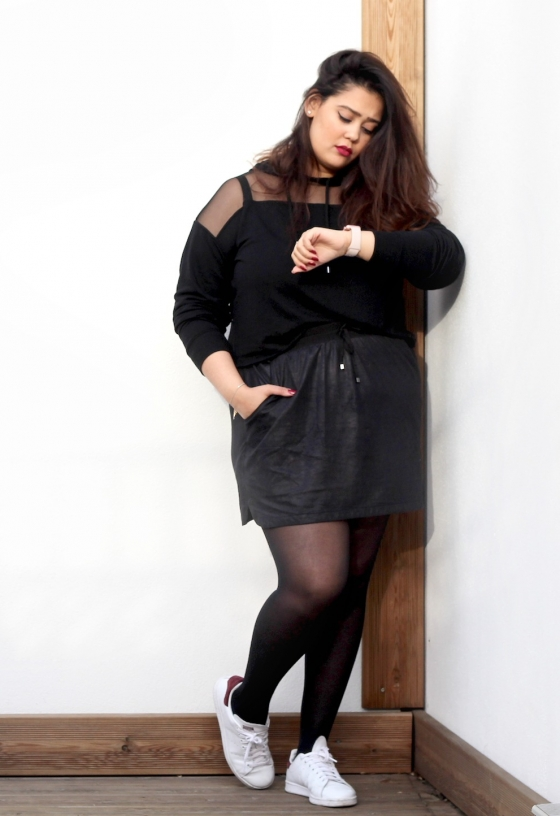 Chic & casual - Je suis une rebelle blogueuse mode grande taille