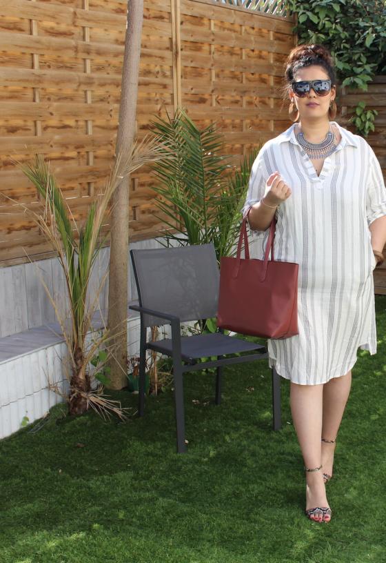 Robe à rayures - Blog mode et lifestyle Je suis une rebelle