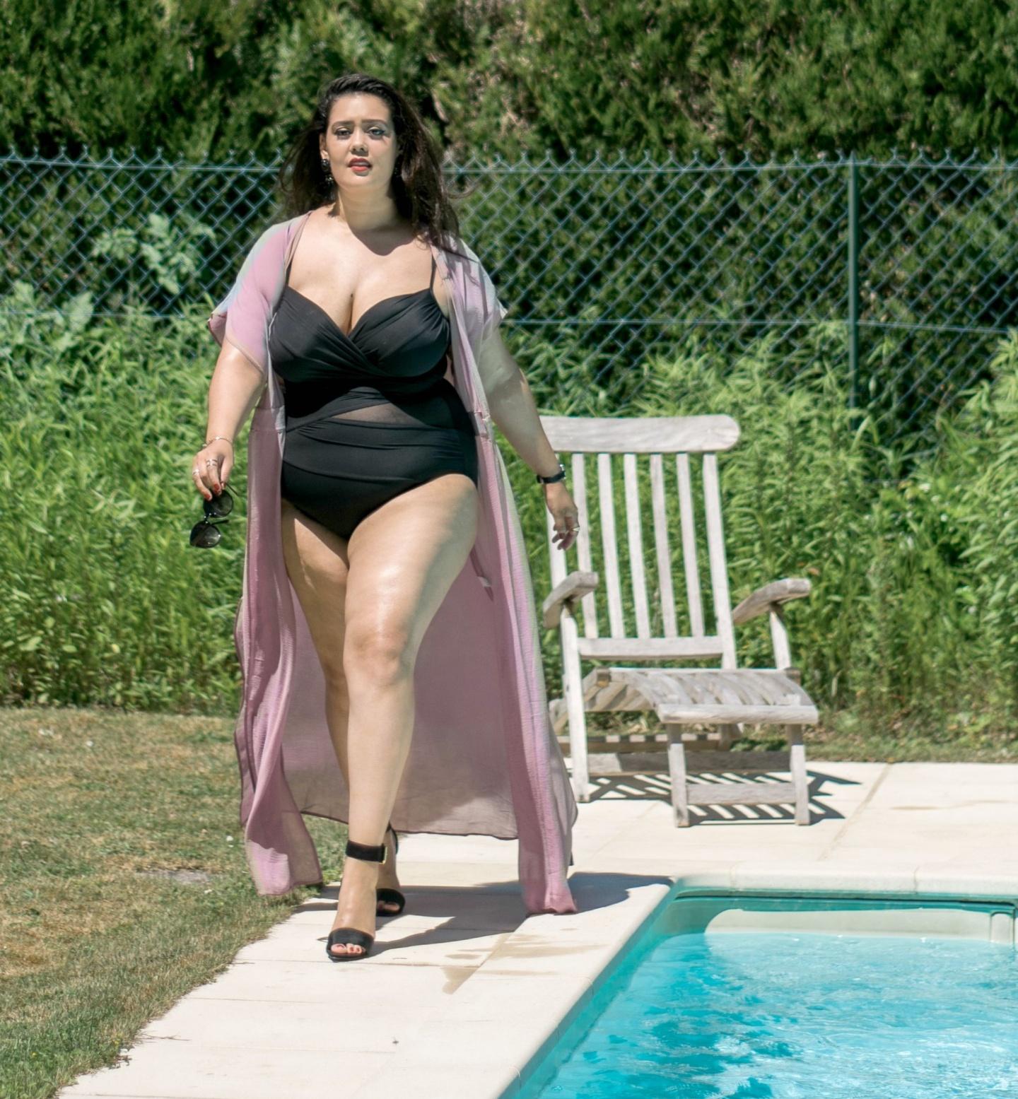 Maillot de bain grande taille - Je suis une rebelle blogueuse mode grande taille et lifestyle