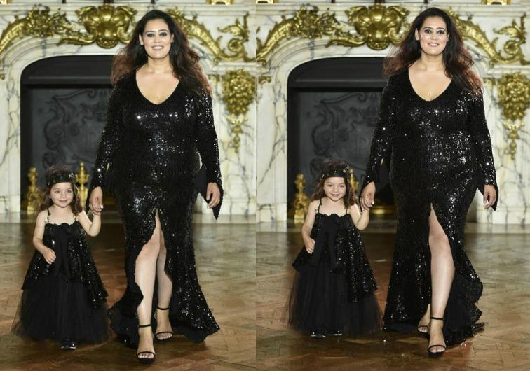 Mannequin grande taille -Défilé de Haute Couture (Fashion Week Paris 2017) by EVA MINGE - Je suis une rebelle blogueuse mode et lifestyle